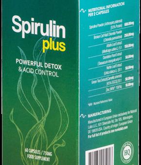 Spirulin Plus- Efektywny detoks bez morderczych głodówek? Efektywne odkwaszanie organizmu bez katorżniczych wyrzeczeń? Tak, to realne!