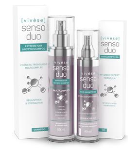 Vivese Senso Duo Shampoo – Osłabione włosy? Pożądasz specyfiku, który zlikwiduje ten problem i poprawi stan Twoich włosów raz na zawsze? To znalazłaś!