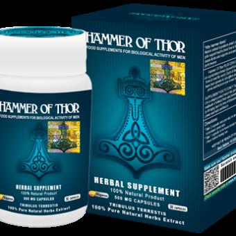 Hammer of Thor – wspaniały środek, który poradzi sobie z każdym zaburzeniem wzwodu.